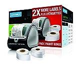 DYMO LabelWriter 450 Turbo + 2 Labels Box Térmica Directa 300 x 300DPI - Impresora de Etiquetas (Térmica Directa, 300 x 300 dpi, 5,6 cm, 71 Ipm, Negro, Alámbrico)