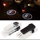 Inlink 2 X LED Car Door Welcome Light Courtesy Ghost Shadow Logo Laser Projector Lights for Audi Series