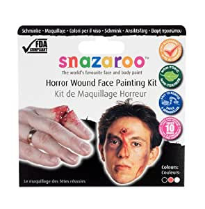 Snazaroo Horror Wound Theme Pack
