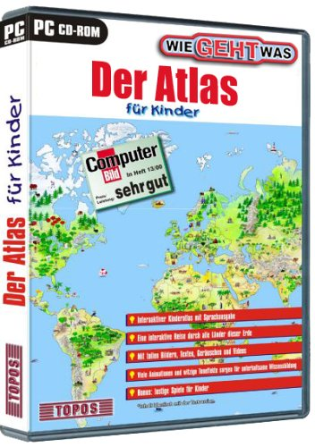 Atlas für Kinder - Wie geht Was