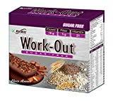 #6: Rite Bite Work Out Sugar Free Energy Bar - 50 g (Choco Almond, Pack of 6)
