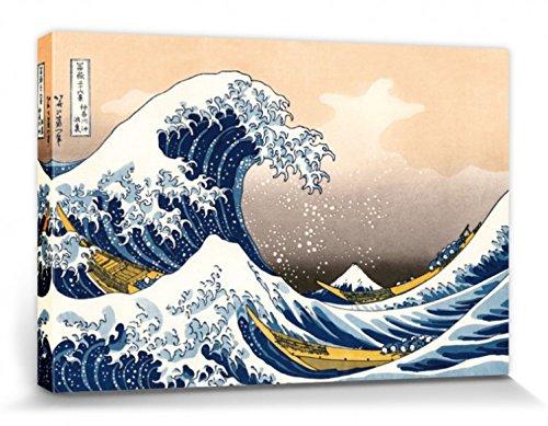 Katsushika Hokusai - La Gran Ola De Kanagawa Cuadro