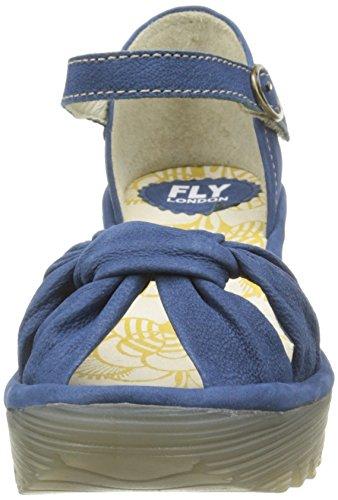 FLY LondonYoel629fly - Sandali Donna Blu (Bleu (Cupido Blue))