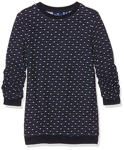 TOM TAILOR Kids structured sweater, Felpa Bambina, Blu (original), 164