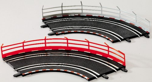 Preisvergleich Produktbild Carrera GO!!! Fangzaun 5 Stück weiß / 5 Stück rot, 1Set