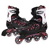 WeSkate Adult Inline Skates Mittel/groß Größe Männer/Frauen Ausbildung Roller Skates Outdoor-Speed Schnalle Rollerblades