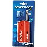 Witte COMBIT BOX 7 - Caja de atornillar con 7 puntas, Hexagonal azul
