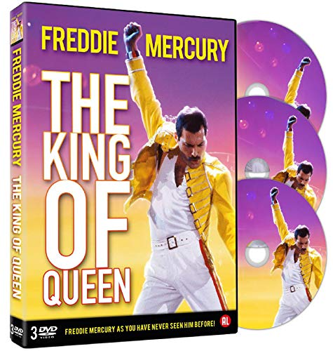 Freddie Mercury - The King Of Queen (Box 3 Dvd)
