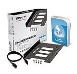 """PNY P-72002535-M-KIT - Adaptador bahía para disco duro de 2.5""""/SSD 3.5"""""""