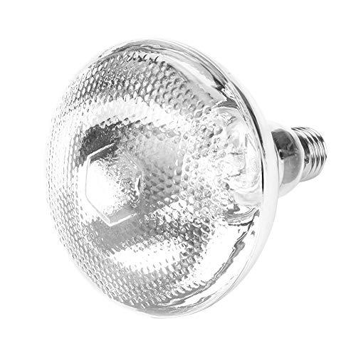 HEEPDD Lámpara de Calor infrarroja Impermeable antiexplosión Bombilla Punto Superficie Grueso, emisor de Calor, para Mascotas Criador Coop Pollo Cerdo Cochinillo Pato Aves No Hay daño 220V (175W)