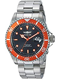 Invicta Pro Diver Men's Analogue Classic Quartz Watch with Stainless Steel Bracelet – 22022