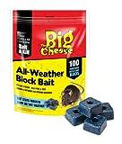 Stv International The Big Cheese Blocs d'appt (Résistant à l'humidité du Poison, Tue Les rongeurs nuisibles tels Que Les Souris et Les Rats) Pack of 100