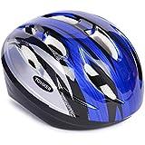 Ek Retail Shop Yonker Cycling Helmet Step ONE with Adjuster, Junior Size (Blue/Grey)