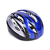 #8: YONKER Cycling Helmet STEP ONE with Adjuster JUNIOR SIZE , YS-1412 (Blue/Grey)