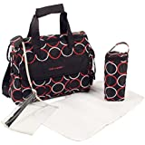 CHIC 4 Baby 40544 bolso cambiador Luxury, color negro/rojo