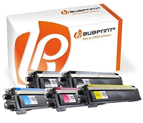 5 Bubprint Toner kompatibel für TN-230 Black MFC-9120CN 9125CN 9320CW 9325CW HL-3040CN 3045CN 3070CW 3070CN 3075CW