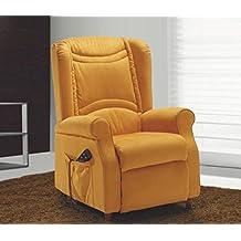 Poltrona relax massaggiante reclinabile motorizzata