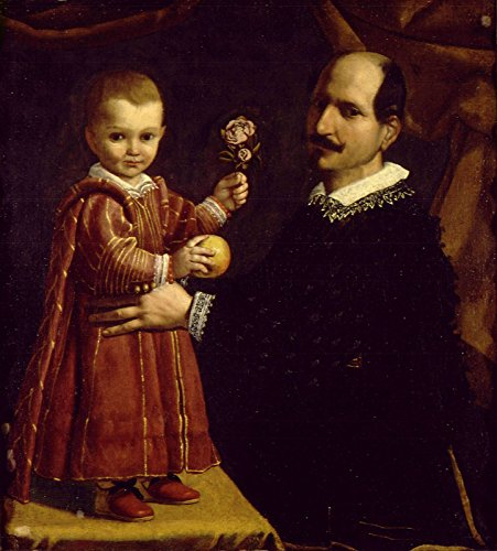 Spiffing Prints Carlo Ceresa - A Man with A Child - Large - Archival Matte - Unframed