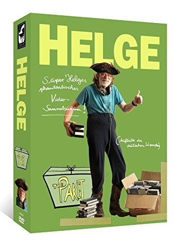 Helge Schneider - The Paket: Super Helges phantastisches Video-Sammelsurium (11 DVDs + 8 Postkarten + 2 Sticker) [Limited Editi