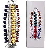 SUDS-ONLINE 40 Pod Disc Holder Rack for Nespresso Coffee Machines (40 Capsule Dispenser Tower)