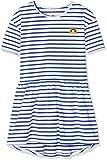 Ben & Lea NATA Kleid, (Weiß/Blau Gestreift 110), 98 (Herstellergröße: 98/104)