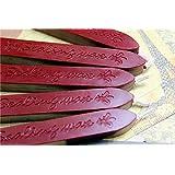 XICHEN® - Barras de cera para lacrar, color 10 unidades rojo carmesí
