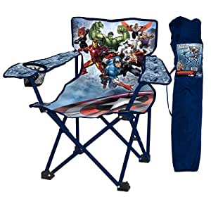 The Avengers Folding Camp Chair Amazon Co Uk Toys Amp Games