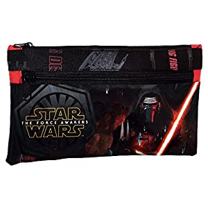 Star Wars The Force Estuche, Color Negro