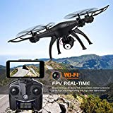 Monstertronic Drohne, Quadrocopter Sky Hunter mit lenkbarer Kamera