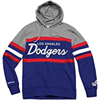 """Los Angeles Dodgers Mitchell & Ness MLB """"Head Coach"""" Pullover Hooded Sweatshirt"""