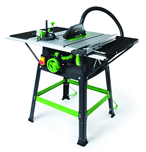 Evolution 056-0001 Fury5-S 230 V Multi-Purpose Table Saw, 255 mm - Green Test