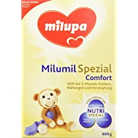 Milupa Milumil Comfort Spezialnahrung bei Blähungen und Verstopfung, 3er Pack (3 x 600 g)