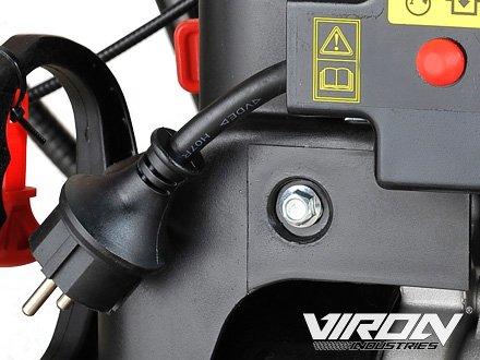Benzin Kehrmaschine 11 PS mit Elektrostarter 3in1 Schneeschieber Motorbesen Schneepflug - 4