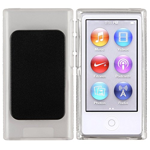 ChannelExpert Traslucida TPU Clip Gel Funda Case Para New Para Apple iPod Nano 7 7th 7G Cover Claro