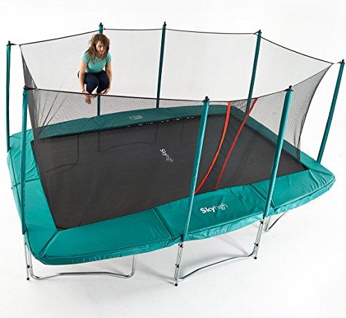Skyhigh 10 Foot X 17 Foot Rectangular Trampoline With