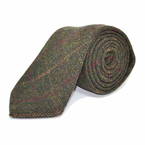 corbata-con-recuadros-clasicos-verde-musgo