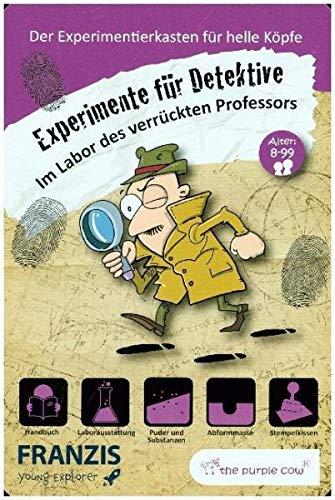 FRANZIS young Explorer Im Labor des verrückten Professors: Experimente für Detektive | Experimentierkasten für helle Köpfe | Ab 8 Jahren