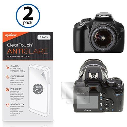 canon-eos-digital-rebel-xsi-film-protecteur-decran-boxwaver-cleartouch-anti-reflets-2-peau-film-mat-