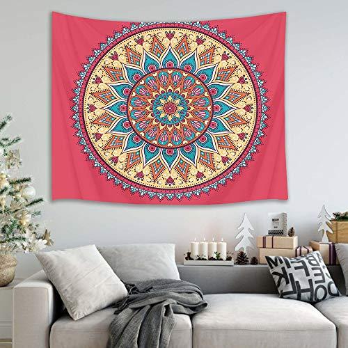 jtxqe Mandala Appeso a Parete Appeso Decorazione della Parete Telo da Mare arazzo 31 150x100cm