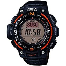 Casio Reloj Digital para Hombre con Correa de Tela – SGW-1000B-4AER