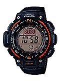 Casio Herren Uhr Digital mit Textilarmband SGW-1000B-4AER