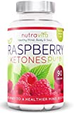 Raspberry Ketones by Nutravita - UK Manufactured - Great Value - Order Today (90 x Raspberry Ketone weight loss capsules)