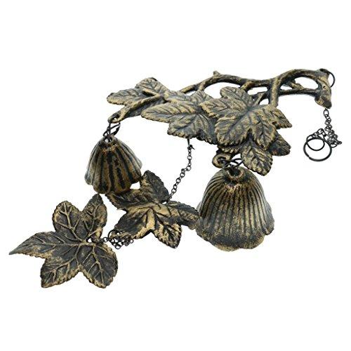 Fenteer Gusseisen Zweig und Blatt Windspiel Wind Glocken Gusseisen Geburtstag Geschenk Weihnachten Geschenk Home Dekor Japanische Wind Chimes Glockenspiele - 2 -