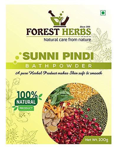 Forest Herbs 100% Natural Organic Herbal Bath Powder, Sunnipindi, Ubtan - 200Gms