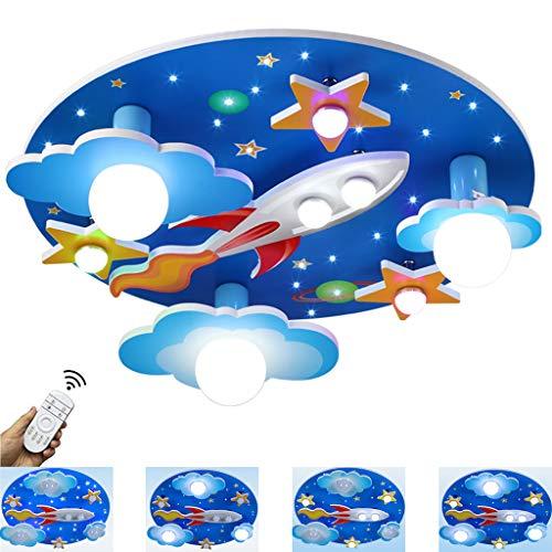 Lámpara De Techo Habitación Infantil Lámpara De Techo LED 35W Universo Creativo Cielo Estrellado...