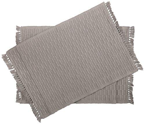 Pinguin Home 100% Doppelter Ofenhandschuh und Set von 2Tee Handtuch Geschenk Set, Baumwolle, Grau, 45x 33x - Muster Handtuch-set