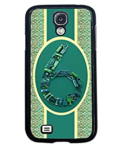 Fuson 2D Printed Numerology Designer back case cover for Samsung Galaxy S4 - D4378