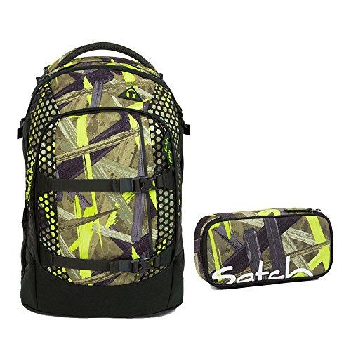 Satch Pack 2tlg. Set mit BOX – Jungle Lazer