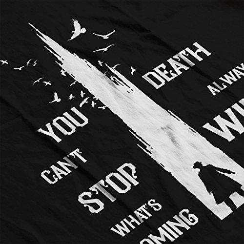 The Dark Tower Gunslinger Death Always Wins Men's Vest Black