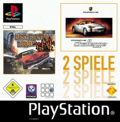 Sony Computer Entertainment Twinpack: Destruction Derby Raw & Porsche Chall.